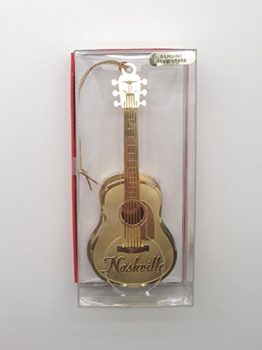 Music City Gifts (Nashville Guitar Christmas ORNAMENT Tennessee Music Souvenir Gift)