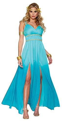 [Women's Aphrodite Costume, Small] (Aphrodite Costume)