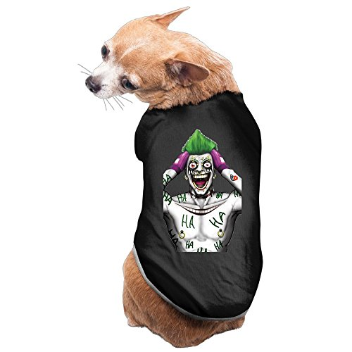 [Greenday Amazing Joker Cool Pet Doggie Pets Costumes Size M Black] (Diy Courtney Love Costume)