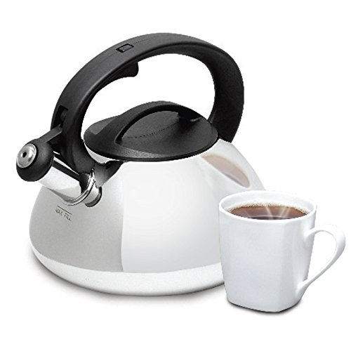 Mr Coffee 2qt Stainless Steel,Whistling Tea Kettle, Feauturi
