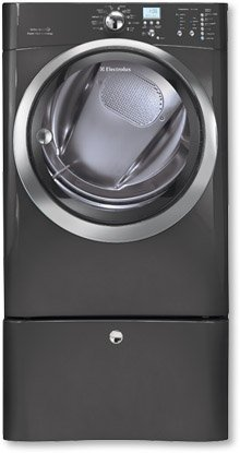 Electrolux EIMED60LTIQ-Touch 8.0 Cu. Ft. Titanium Stackable With Steam Cycle Electric Dryer