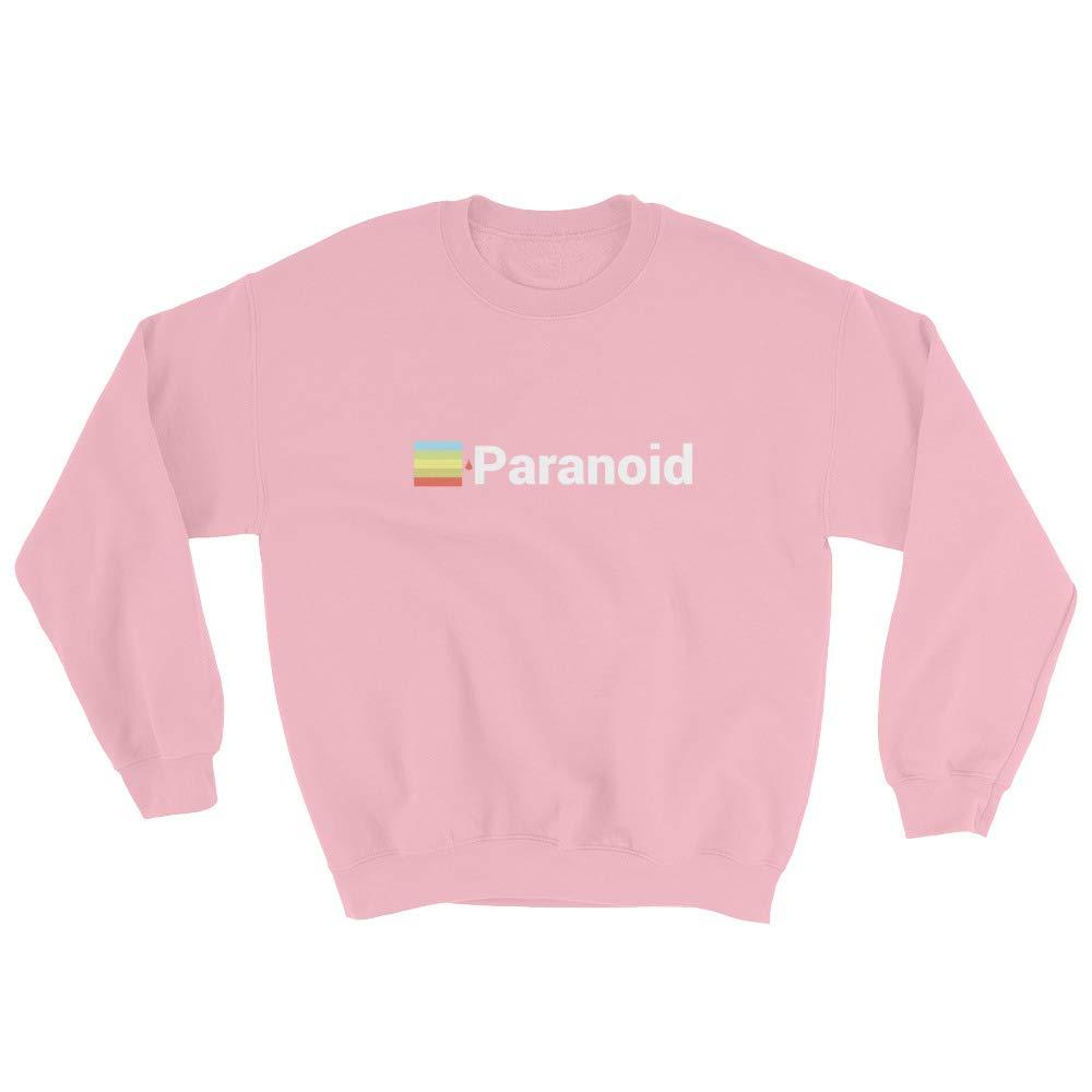 Done by Dom Paranoid Graphic Unisex Heavy Blend Crewneck Sweatshirt