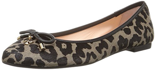 kate spade new york Womens Willa Too Ballet Flat SmokeBlack 7 M US