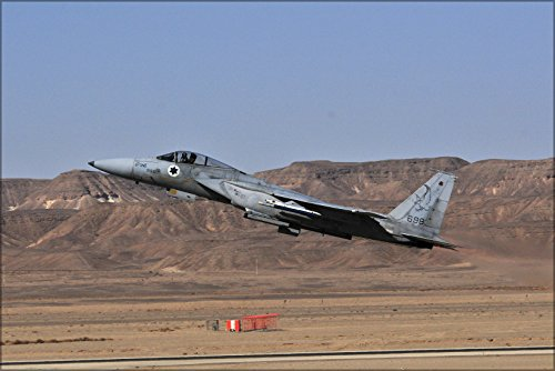24x36 Poster . Israeli Air Force F-15A Eagle F-15 133Rd Squadron