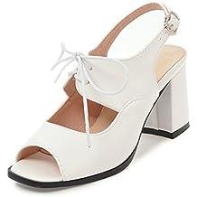Women Sandals Large Size High Heel Sandals Women 7.5cm Summer Shoes