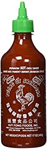 huy fong sriracha hot chili sauce 17 ounce bottle grocery gourmet food. Black Bedroom Furniture Sets. Home Design Ideas