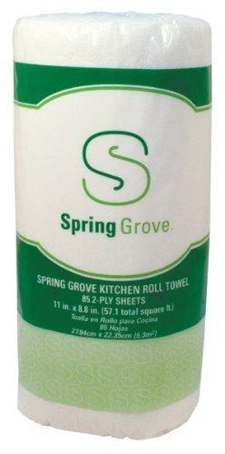 White Spring Grove Beverage Napkin 409177