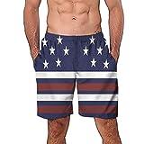 NUWFOR Men Casual 3D Graffiti Printed Beach Work Casual Men Short Trouser Shorts Pants(Multi Color,US:S Waist7.6-31.5'')
