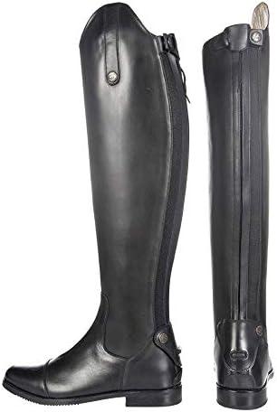 HKM SPORTS EQUIPMENT HKM Selle Bottes–Cadiz-, Longueur Standard/de, Noir, Taille 38
