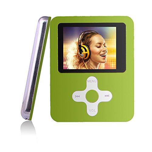 Btopllc MP3-Player 16GB Karte, MP3 tragbarer Musik-Player - grün 03