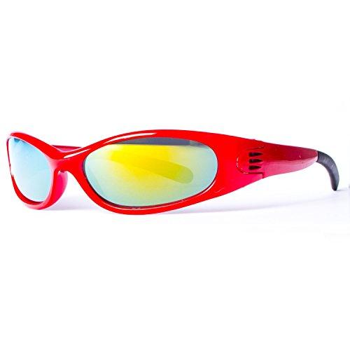 Rouge soleil Jaune couleurs 10 différentes sport Lunettes le de 4003 pour Miroir Bvzqz5