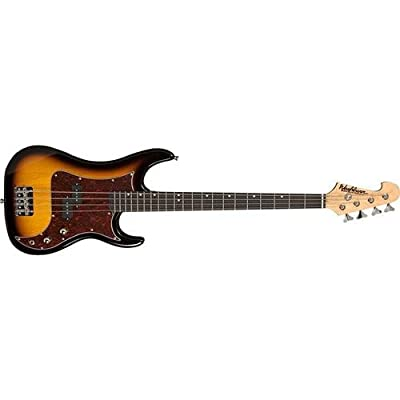 Washburn Sonamaster SB1PTS 4-String Bass Guitar, Tobacco Sunburst