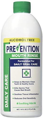 (Prevention Daily Care Mouth Rinse)