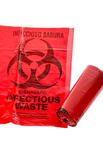 FDA Approved Biohazard Safety Bags (25 Gallon) (50 Bags) by OakRidge Products (Image #3)