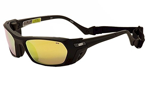 Liberty Sport Piston MBLK6021125SDL 205 Matte Black Sport Wrap Sunglasses 60mm - Liberty Sport Glasses