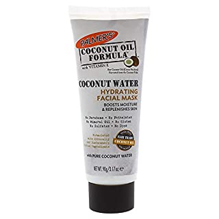 Palmer's Coconut Oil Formula Coconut Water Hydrating Facial Mask | 3.17 Ounces