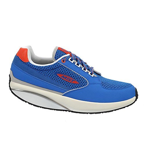 MBT Damen 1996 W Sneaker, Schlammfarben (Fango), 16 EU blau (Turkey Blue /   Orange.Com)