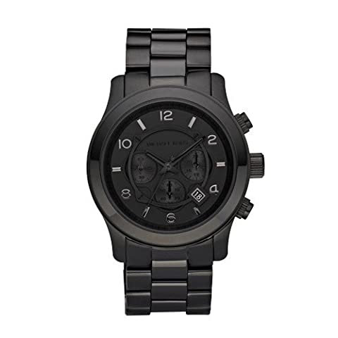 Michael Kors Watches Michael Kors Men's Black bracelet Chronograph Sport (Black) (Watches Michael Kors In Clearance)