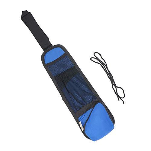 YUSHHO56T Car Seat Bag Interior Storage Storage Holder Car Seat Side Back Storage Bag Organizer Hanging Pocket Tidying Sundries Holder - Blue