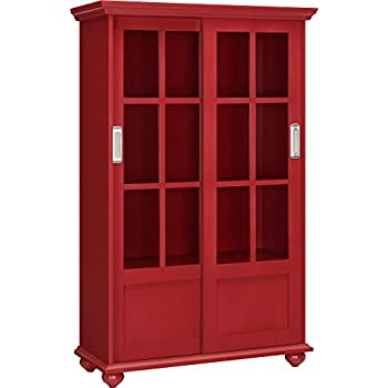 with drawings room stock living bookcase red empty