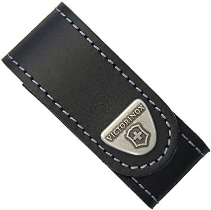 Victorinox Leather Belt Pouch Black