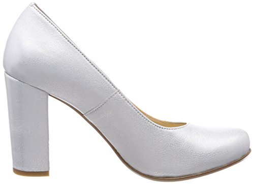 Pinto Zapatos 36 Di silver Con Plateado Mujer Para Cerrada Blu Nightingale Punta Tacn De rqrTnUF