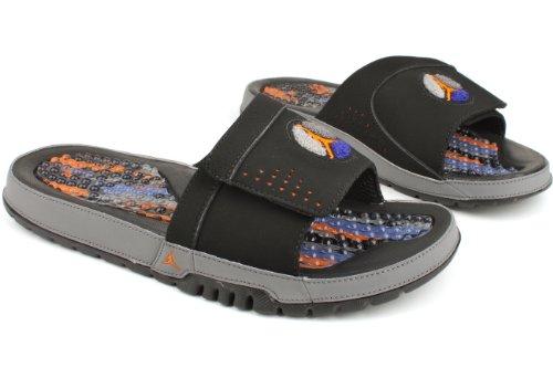 ac3fd9025e5eec Nike Air Jordan Hydro VIII Mens Flip Flops 385073-022 Black 12 M US - Buy  Online in Oman.