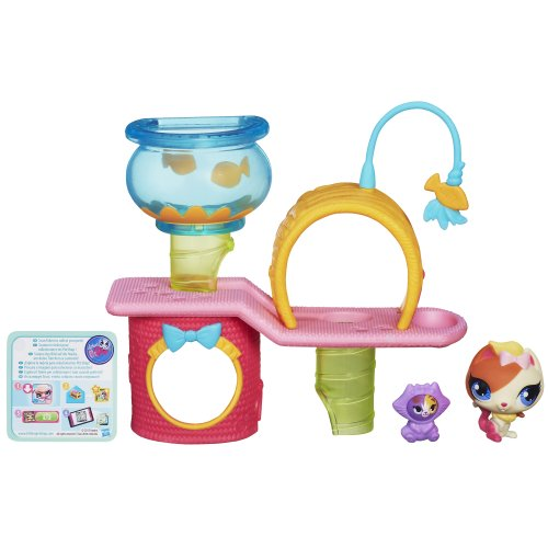 Littlest Pet Shop Cutie Cat Tree Playset - Cutie Kitty Cat Shopping Results