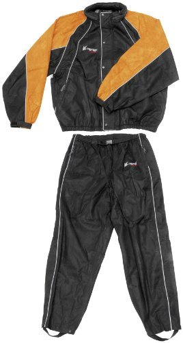 Frogg Toggs Hogg Togg Rainsuit Black/Orange (Quality Rainsuit)