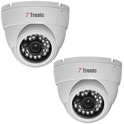 540tvl Waterproof Ir Camera - 7 Tronic Security Cameras CCTV Surveillance 2 Dome 1000TVL 24IR Fixed Lens 3.6mm Sony Exmor 960H Waterproof