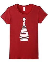 Imagination bottled - cool creative novelty graphic t-shirt