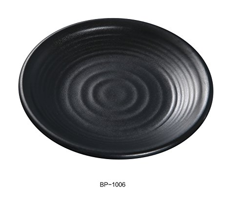 Yanco BP-1006 Black pearl-1 Round Plate, 6