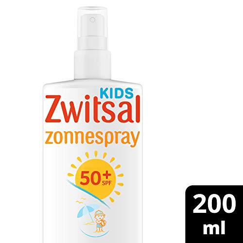 Zwitsal Zonnespray Kids SPF50+ Zonnebrand Waterresistent en voor de gevoelige huid – 200ML – 1 stuk