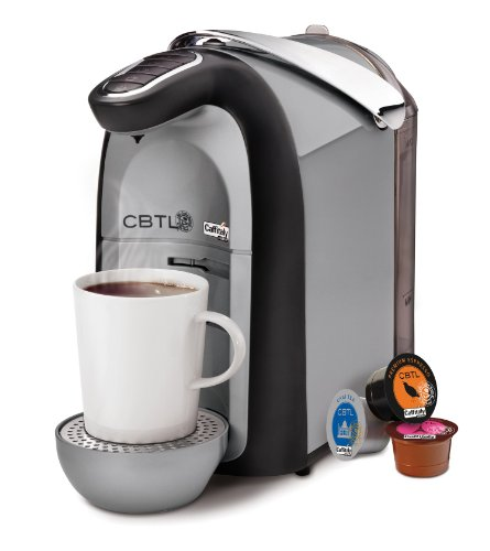 CBTL from The Coffee Bean and Tea Leaf Beverage System, Americano Silver (Coffee Bean And Tea Leaf Maker compare prices)