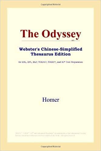 Book The Odyssey (Webster's Chinese-Simplified Thesaurus Edition)