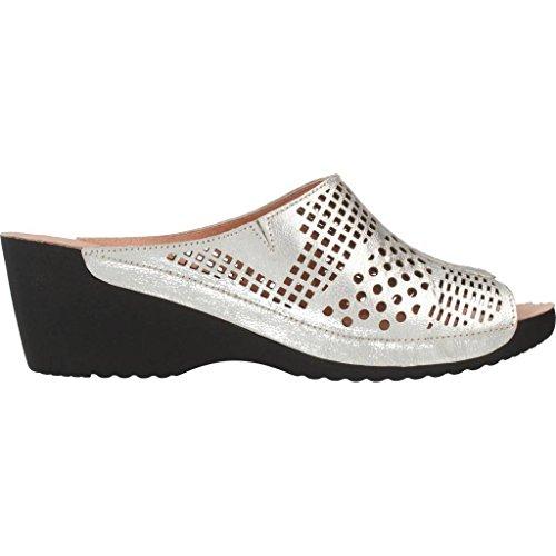 Pantofole Marca Modello A Donna Della 3023n Casa Donna Argento Argento Nordikas Colore xw806qdRwA