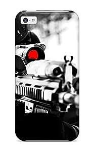 Defender Case For Iphone 5c, Sniper Pattern