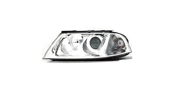 Volkswagen 01-05 Passat Black Housing Replacement Headlights GL GLX GLS W8