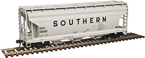 Acf Covered Hopper - Atlas HO Scale ACF 3560 Center-Flow Covered Hopper Southern Railway #98961