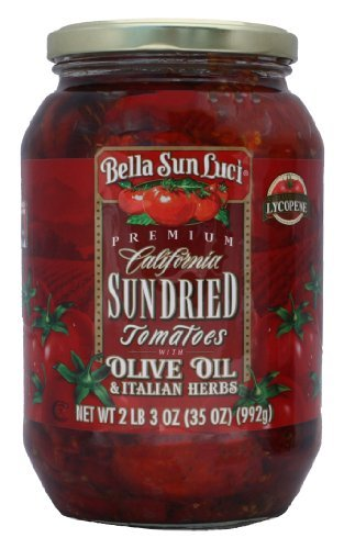 Sun Dried Tomatoes Halves in Olive Oil (Mediterranean Tomato)