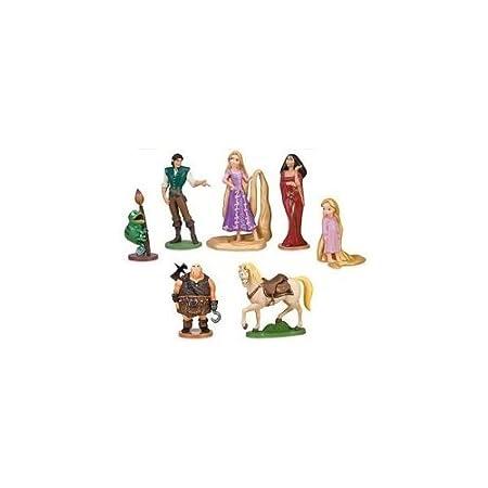 Rapunzel Figura Set - decoración para Tarta para cumpleaños ...
