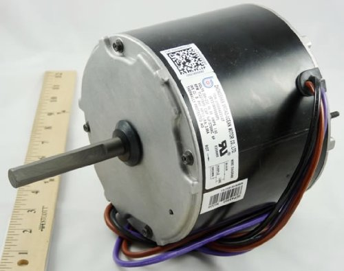 OEM Upgraded Goodman Janitrol GE Genteq 1/3 HP 230v Condenser Fan Motor 5KCP39JGP825AS ()