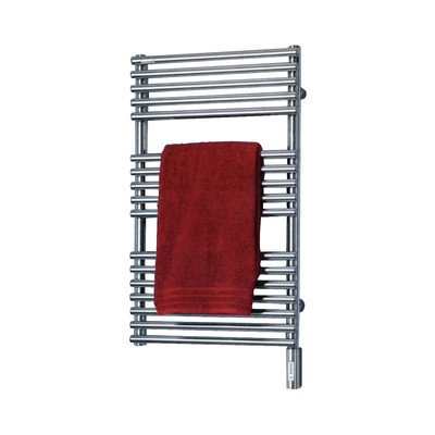 Runtal NTREG-3320-9002 Neptune Electric Towel Radiator Plug-In 33-in H x 20-in W Gray White by Runtal