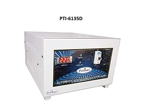 PULSTRON PTI 6135D 6 KVA Single Phase Automatic Mainline Voltage Stabilizer  135V 290V
