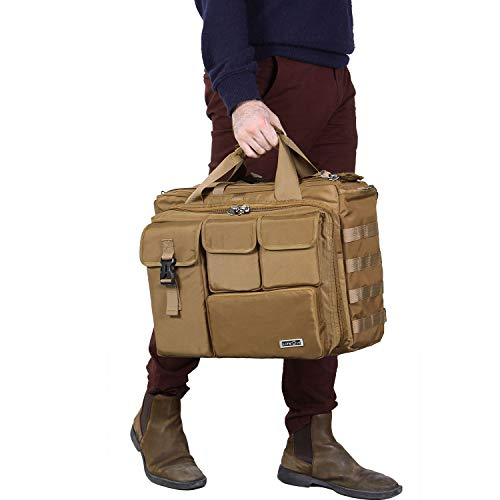 Lifewit 17'' Men's Military Laptop Messenger Bag Multifunction Tactical Briefcase Computer Shoulder Handbags by Lifewit (Image #6)