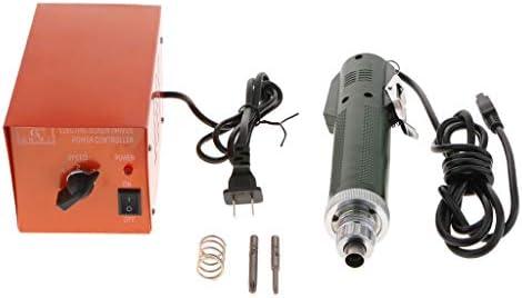 FLAMEER 220V Destornillador Eléctrico de Precisión de Acero ...