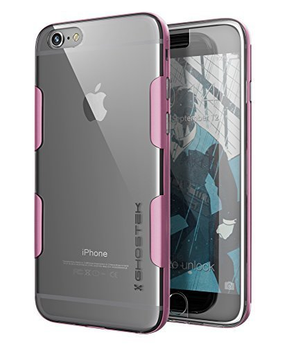 iPhone 6S Plus Case, Ghostek Cloak Series for Apple iPhone 6 Plus Slim Protective Armor Case Cover | Tempered Glass Screen Protector | Aluminum Frame | TPU Shell Exchange - Frames Swedish Glasses