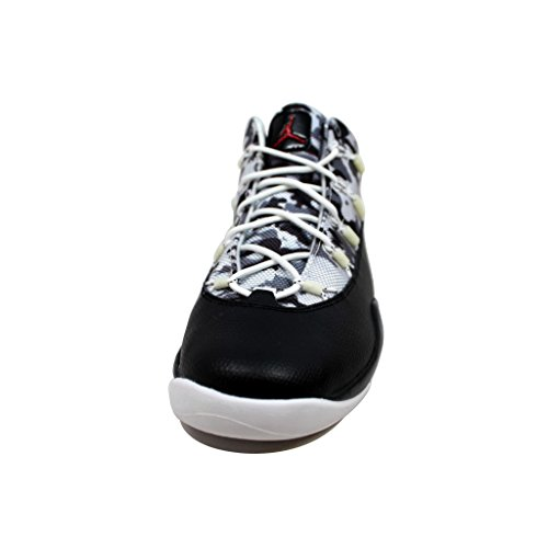 Nike Womens Air Max Fusion Nero / Palestra Rosso-puro Platino-cool Grigio