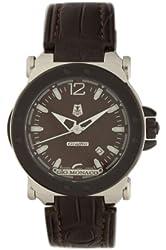 Gio Monaco Men's 764B-A Graffiti Automatic Brown Dial Alligator Leather Watch