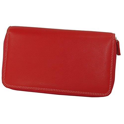 belarno-double-zip-multi-color-clutch-in-black-rainbow-combination-red